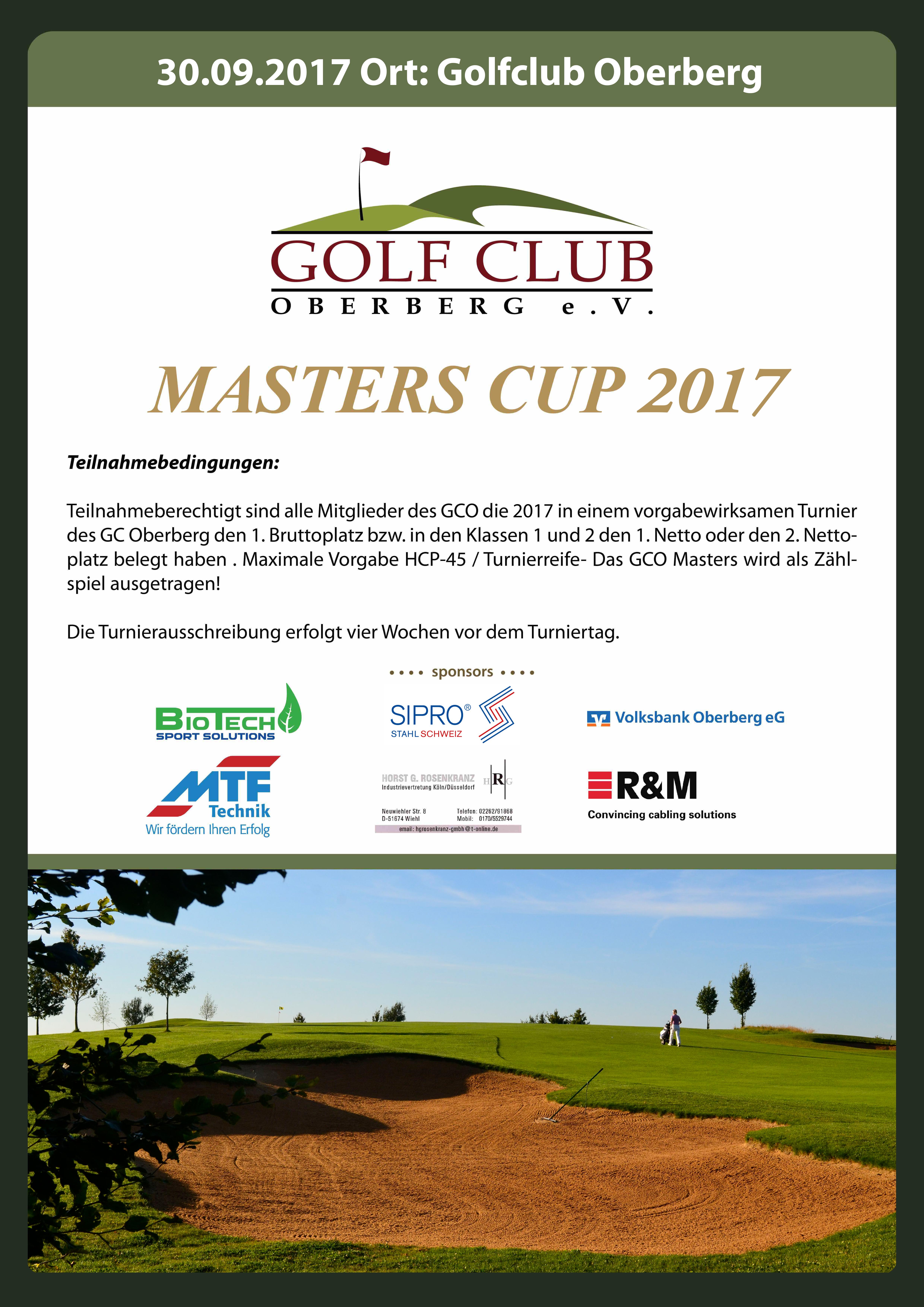 poster - masters cup 2011 - GC Oberberg eV - ver001 - op1b