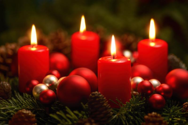 Adventskranz-4-Kerzen